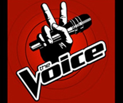 "the voice logo. The Voice"" debuting on"